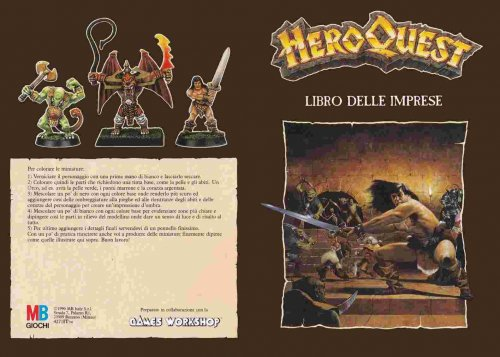 Heroquest - Questbook in Italiano [SCAN]