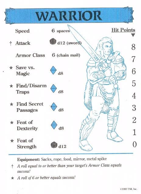 Dragon Strike - Schede Personaggi [ENG]