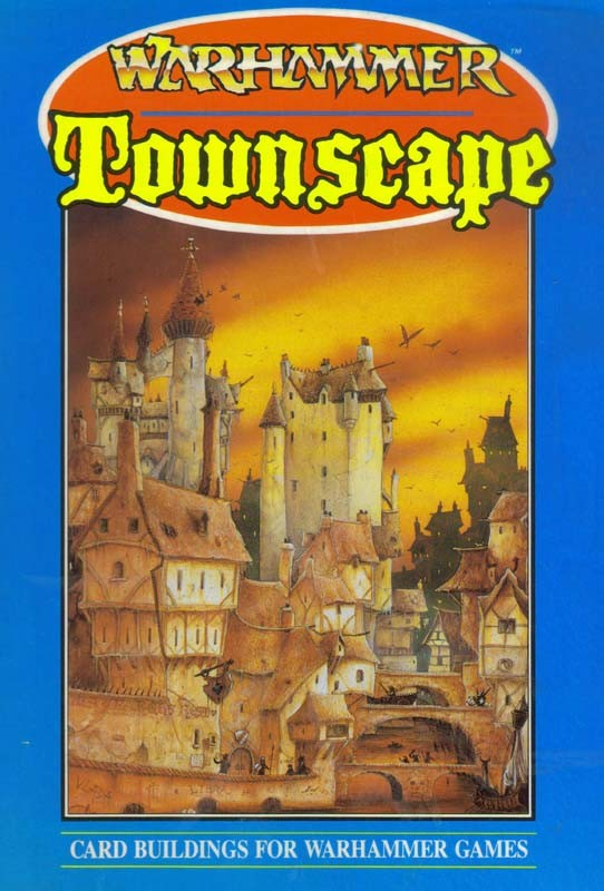 Warhammer Townscape - Card Buildings for Warhammer Games [ENG]