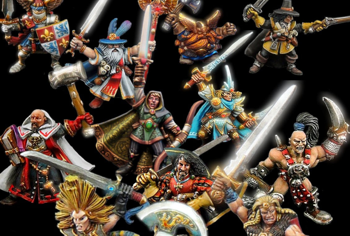 Paper Miniatures di Advanced HeroQuest e Warhammer Quest