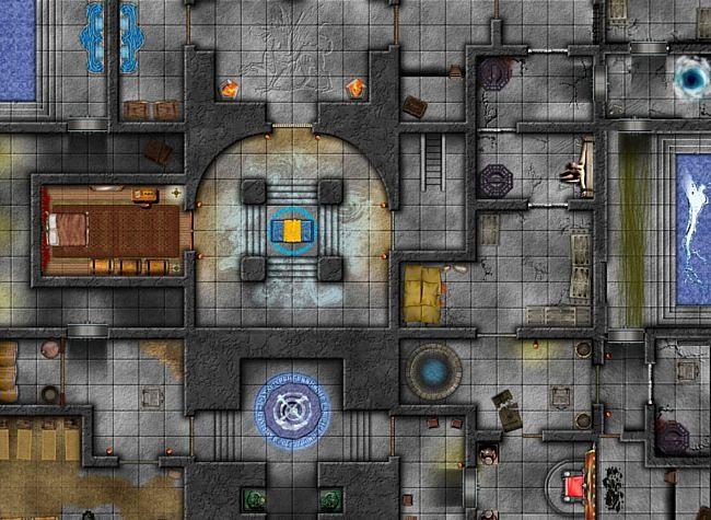 La sala delle acque sacre