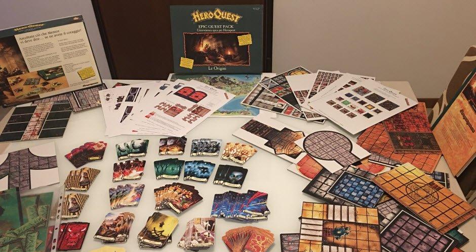 Epic Quest Le Origini, i primi unboxing del materiale stampato