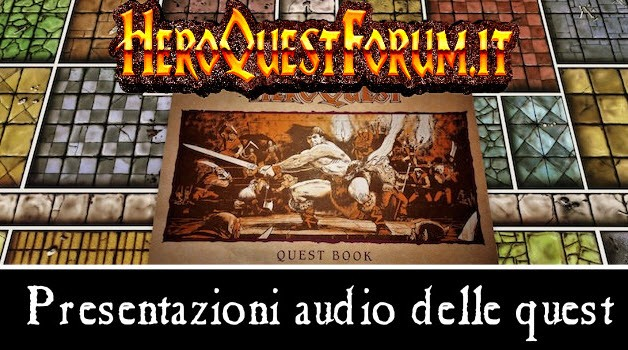 Le tracce audio delle presentazioni delle avventure