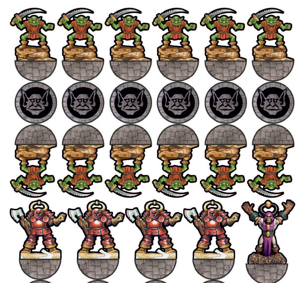 Paper Miniatures del Set base di Heroquest [FULL PACK]