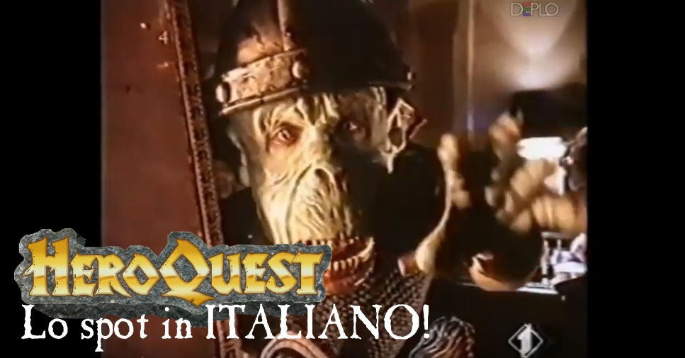 Lo spot in italiano di HeroQuest