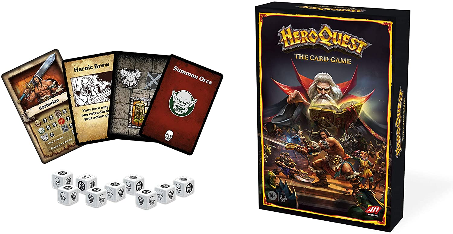 HeroQuest - The Card Game