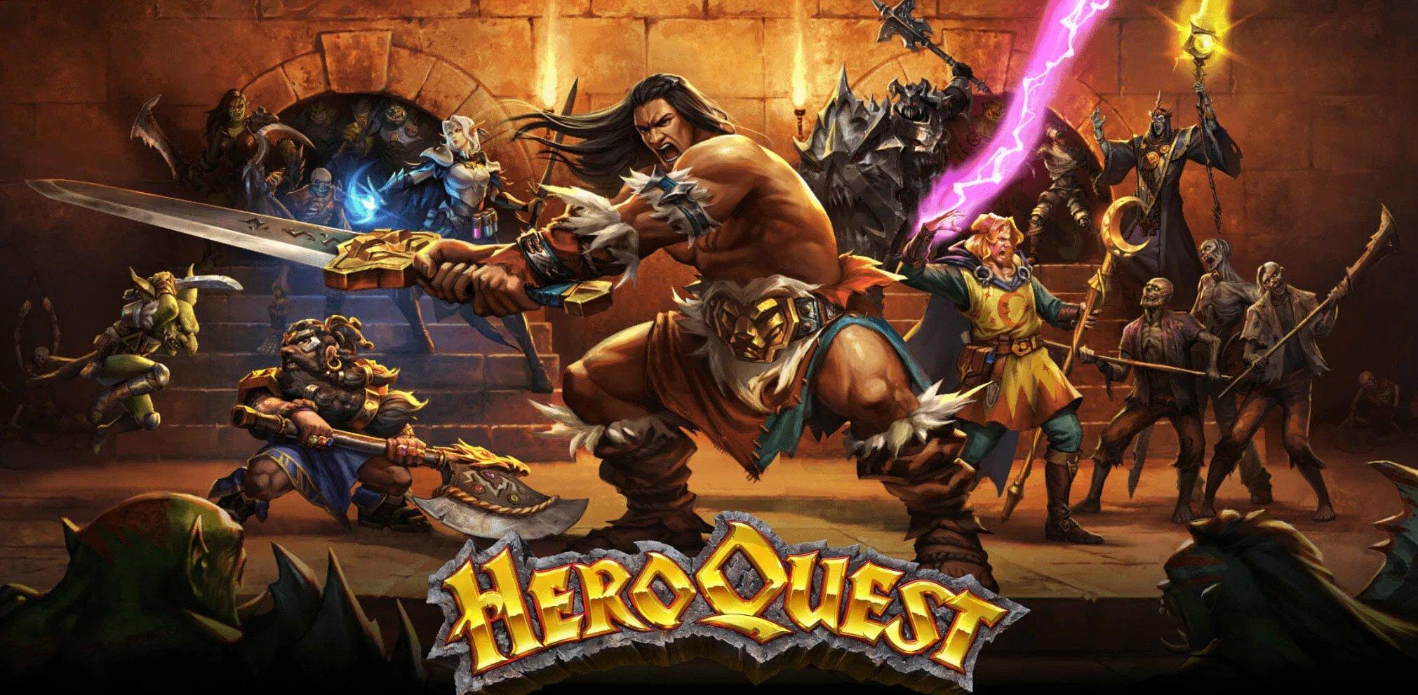 Il remake di HeroQuest arriverà in italiano con Cosmic Games!